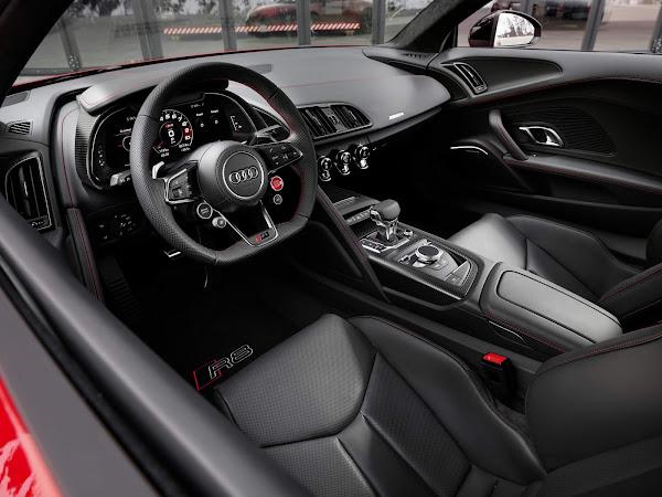 Audi R8 2022 RWD atualizado chega com V10 de 570 cv - Europa