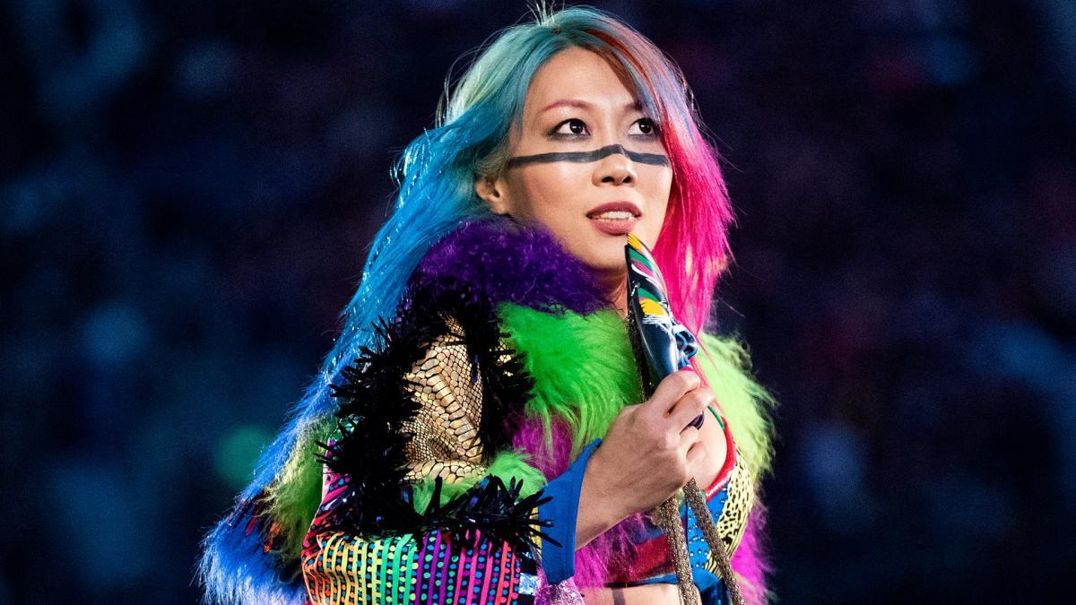 Possível motivo para a ausência de Asuka da WWE