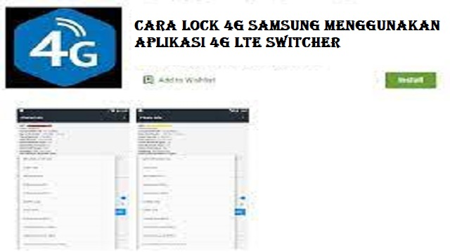 Cara Lock 4G Samsung