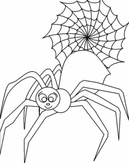 Charlottes Web Spider Coloring Pages
