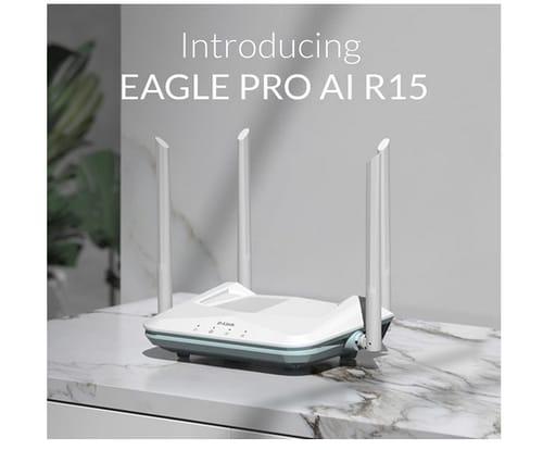 D-Link R15 EAGLE PRO AI WiFi 6 Smart Internet Router