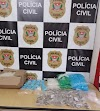 Polícia Civil prende em flagrante casal na posse de mais de mil porções de drogas em Registro-SP