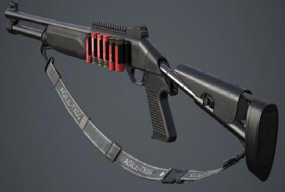 بينيلي إم 1014 بندقية ببجي الجديدة