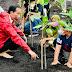 Presiden Jokowi Tanam Mangrove Bersama Masyarakat Bengkalis