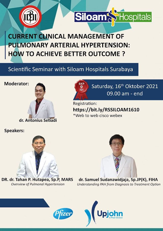 (FREE SKP IDI) Current Clinical Management of Pulmonary Arterial Hypertension: How to Achieve Better Outcome ?