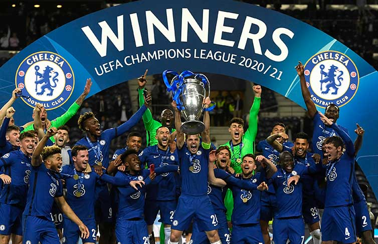 Chelsea CL winners