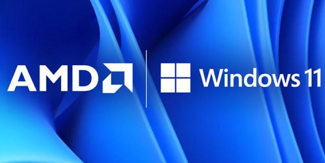 شركة AMD تؤكد إنخفاض الأداء لبعض معالجات Ryzen بعد التحديث لويندوز 11