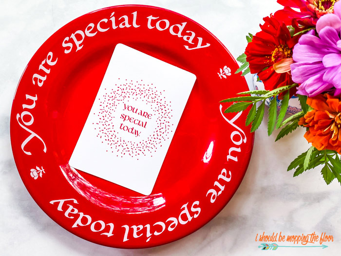 You are Special Today Printables