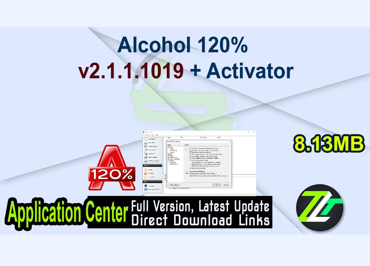 Alcohol 120% v2.1.1.1019 + Activator