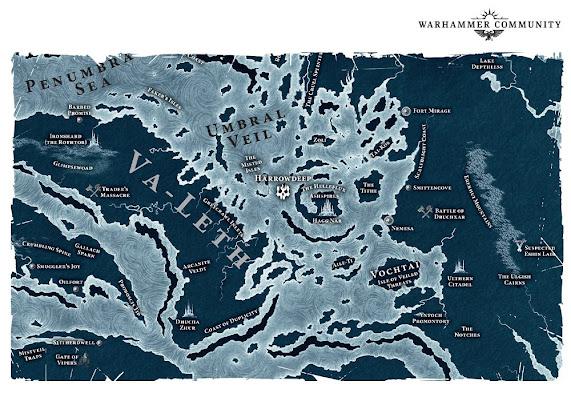 mapa Harrowdeep