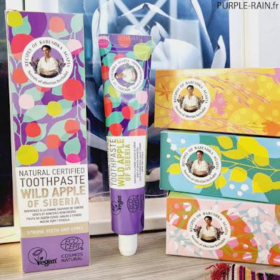 Blog PurpleRain • Babushka Agafia - Les dentifrices naturels