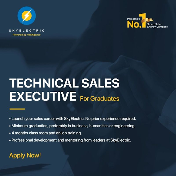 Join SkyElectric's Technical Sales Executive Program 2021
