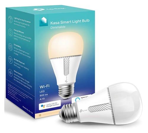 Kasa Smart KL110 LED Wi-Fi smart bulb works with Alexa