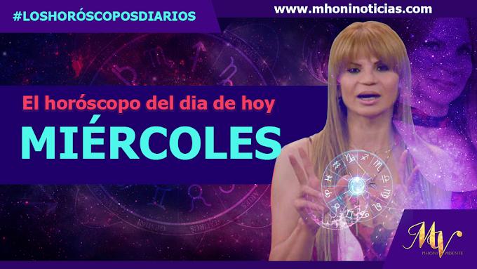 Los horóscopos de MIÈRCOLES 20 de OCTUBRE del 2021 - Mhoni Vidente