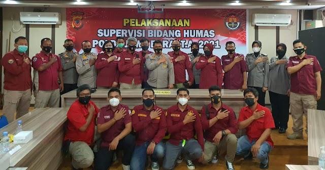 Tim Penmas Polres Tasikmalaya, Hadiri Supervisi Bidang Humas Polda Jabar Di Polresta Cirebon.