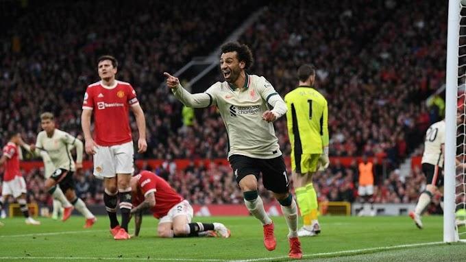 Manchester Utd 0 - 5 Liverpool: Magic Mo mounts massive pressure on United
