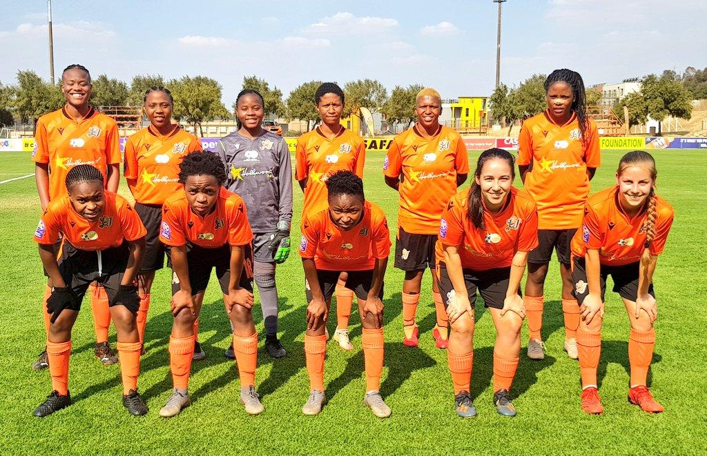 UJ Ladies 'Orange Army'