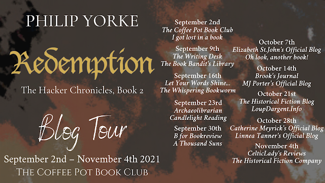 [Blog Tour] 'Redemption' (The Hacker Chronicles, Book 2) By Philip Yorke #HistoricalFiction #EnglishCivilWar