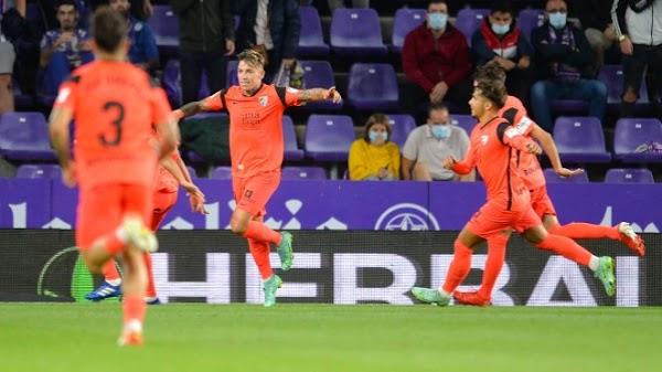 El Málaga suma un buen punto disputado contra el Valladolid (1-1)