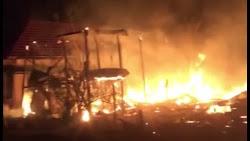 2 Rumah Terbakar di Bone, Korban Rugi Ratusan Juta