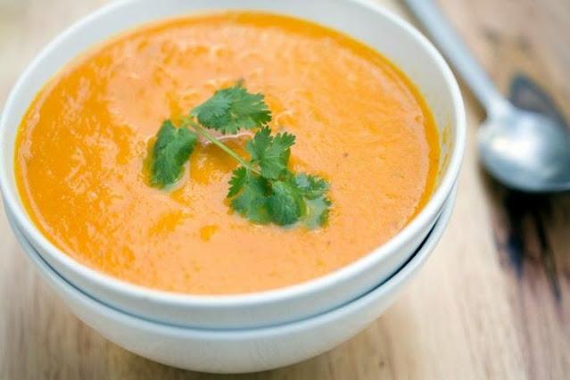 Receita Creme de Cenoura