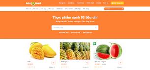 Mẫu theme bán hoa quả thực phẩm tiêu dùng