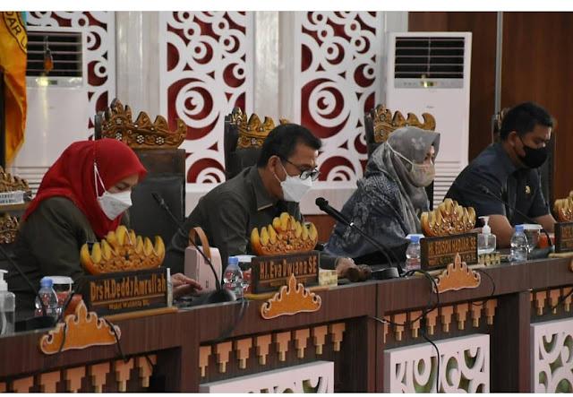 DPRD Bandar Lampung Gelar Rapat Paripurna Penyampaian Dua Raperda