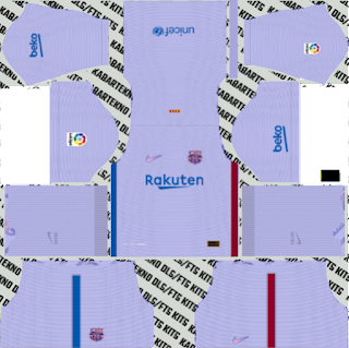 away Barcelona 2021-2022 DLS Kits 2019