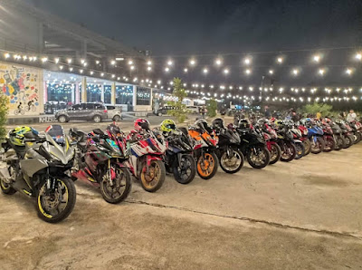 Serunya Komunitas Honda CBR Independent di Kalimantan Barat