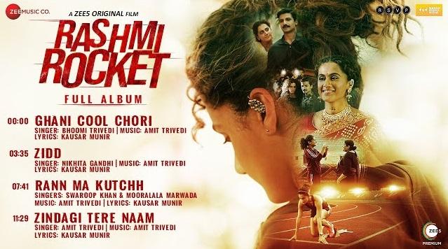 Rann Ma Kutchh Lyrics - From Rashmi Rocket
