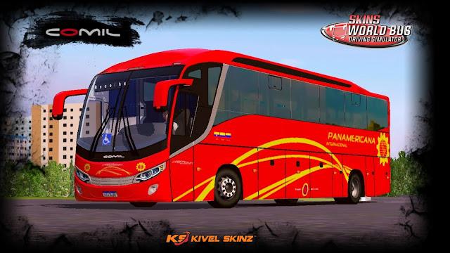 COMIL 1200 4X2 - VIAÇÃO PANAMERICANA INTERNACIONAL (EQUADOR)