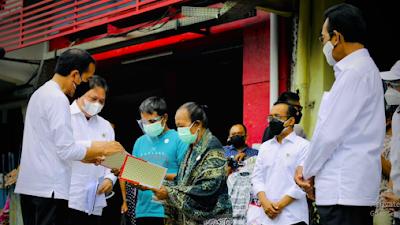 Presiden Jokowi Resmikan Peluncuran BT-PKLW Pertama di Kawasan Malioboro