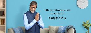 Bazar Plus-Amazon News- 'एलेक्सा, मुझे अमित जी से बात करनी है' - अमित जी रिसाइट मधुशाला''.. जी हाँ, अमित जी की आवाज़, अब एलेक्सा पर लाईव
