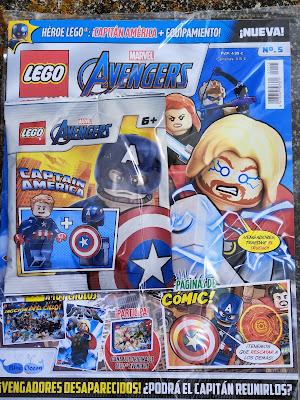 Revista lego Avengers 5