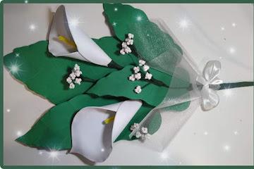 Molde flor de EVA gratuito para impressão