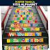 POSTER TANGGA | Kids Alphabet | Untuk Keceriaan Sekolah