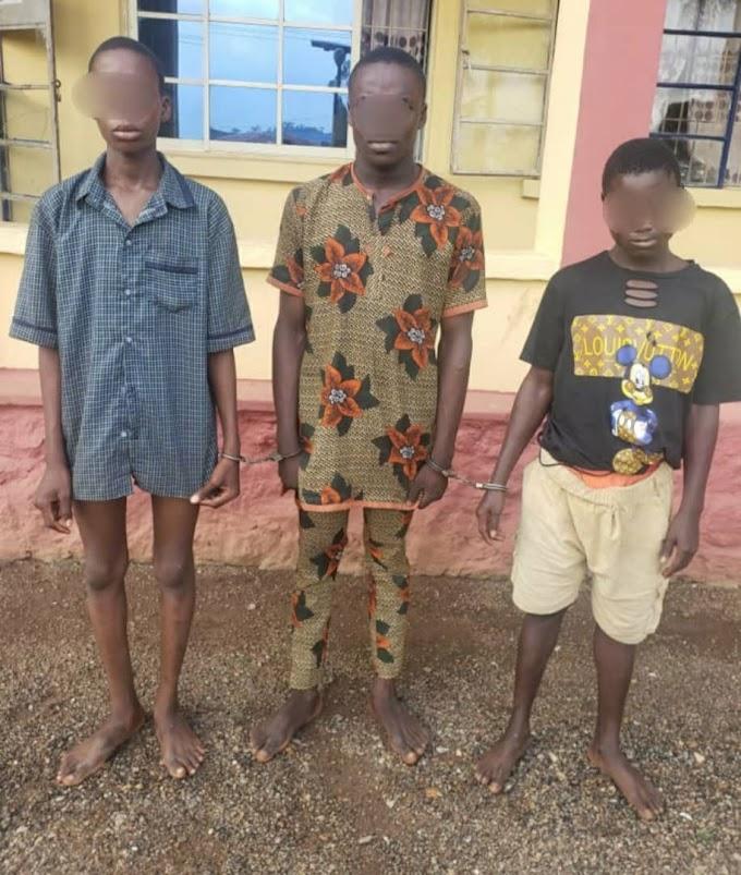 Police Nab Three Teenagers For Murder In Ogun