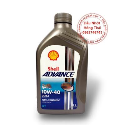 Nhớt Shell Advance Ultra 4T 10W40