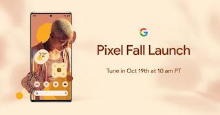 Google phát hành Pixel 6 vào ngày 19 tháng 10 năm 2021