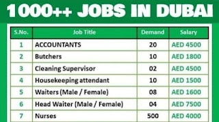 Dubizzle Company For (06 Nos) Job Requirements In UAE