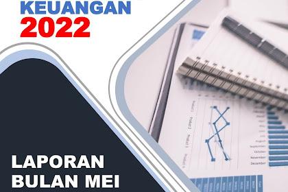 Cover Laporan Keuangan | Template Sampul Laporan Docx Mudah Edit