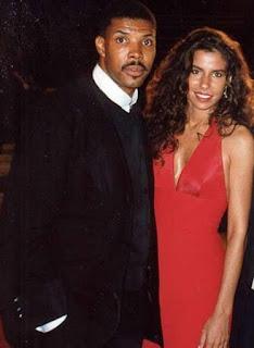 Eriq La Salle with his ex-girlfriend Angela Johnson