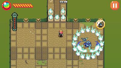 Mazeman Video Game Screenshot