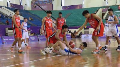 Tim Basket Putra Sulut Kalahkan Babel dengan Skor 92-91 Lewat Overtime