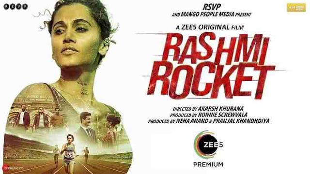 Tapsee Rashmi Rocket Movie Zee5 Image