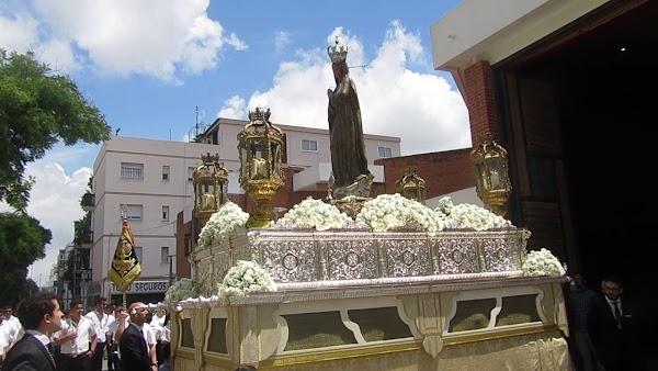 Horario e Itinerario Procesión de la Virgen de Fátima. Jerez de la Frontera 16 de Octubre del 2021