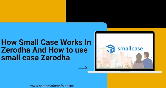 How Small Case Works In Zerodha And How to use smallcase zerodha
