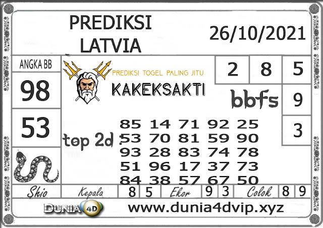 Prediksi Togel LATVIA DUNIA4D 26 OKTOBER 2021