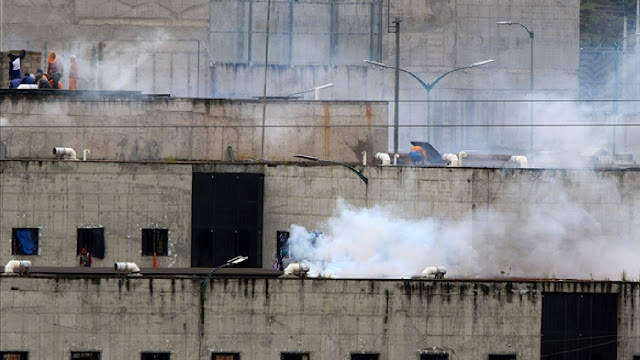 Kerusuhan di Penjara Pecah, 24 Tahanan Tewas, 5 Kepala Napi Dipenggal