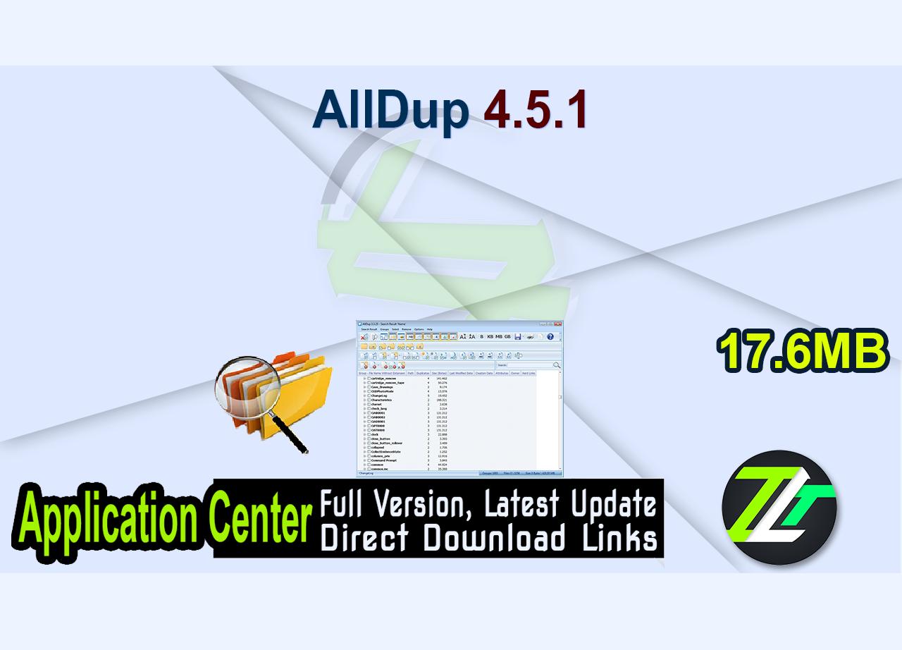 AllDup 4.5.1